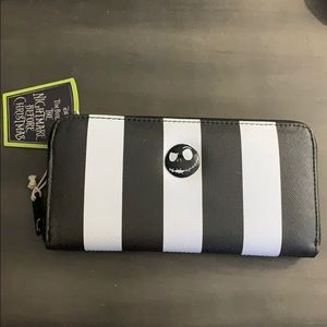 BNWT Disney NBC Striped Zip Around Wallet